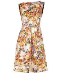 Damen Sommerkleid mit Blumendruck oder uni ASHLEY BROOKE bunt 36,40,42,44,46