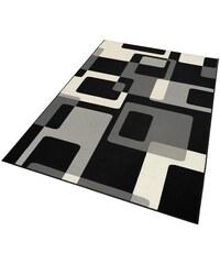 Teppich Tiznit Retro Design abstrakt gewebt HANSE HOME schwarz 2 (B/L: 80x150 cm),3 (B/L: 120x170 cm),4 (B/L: 160x230 cm),6 (B/L: 200x290 cm)