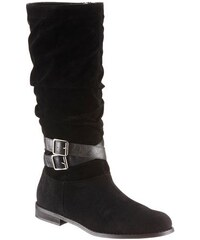 Stiefel mit gerafftem Schaft Citywalk schwarz 36,37,38,39,40,41,42