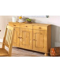 HOME AFFAIRE Sideboard Breite 122 cm Höhe 80 cm natur