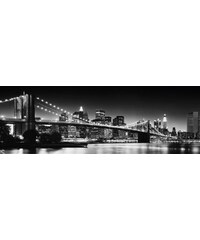 HOME AFFAIRE Bild New York - brooklyn bridge 118/40 cm schwarz