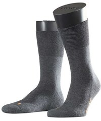 Vollplüschstrumpf aus wärmender Baumwolle Falke grau 39-42,42-43,44-45