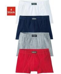 Boxer (4 Stück) bequemer Boxer in tollen Farben mit -Label Buffalo bunt 104,116,128,140,152,164,176,182