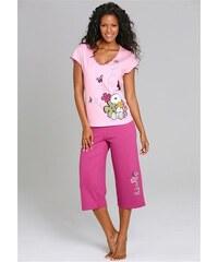PEANUTS PEANUTS Capripyjama mit verspieltem Snoopyprint rosa 32/34,36/38,40/42,44/46
