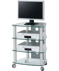 Cuuba By Jahnke TV-Rack CU-SR 640 Höhe 74 cm JAHNKE transparent