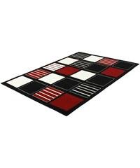 TREND TEPPICHE Teppich Trend Teppiche BLOCKS-502211 schwarz 2 (B/L: 80x150 cm),3 (B/L: 120x170 cm),4 (B/L: 160x225 cm),6 (B/L: 200x290 cm),7 (B/L: 235x320 cm)