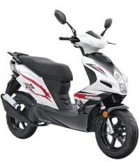 NOVA MOTORS Mofaroller 50 ccm 25 km/h - GT 50 weiß Mofaroller »GT« 25 km/h