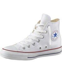 Converse All Star Basic Leather Sneaker weiß 36,37,38,39,40,41,44