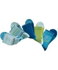 Farbenfrohe Socken (5 Paar) mit verstärkter Ferse & Spitze H.I.S blau 19-22,23-26,27-30,31-34,35-38,39-42