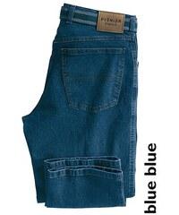 PIONIER JEANS & CASUALS Stretch-Jeans Peter (Set mit Gürtel) blau 48,50,52,54,56,58,60,62