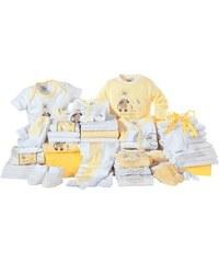 Klitzeklein Erstausstattungspaket (Set 42-tlg.) für Babys KLITZEKLEIN gelb
