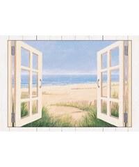 Wandbild mit Designer-Rahmen Spring Day Morning ,4/82,4 cm Artland natur 112