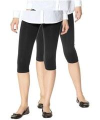 Boysen's Damen Leggings (Packung 2er-Pack) schwarz 34 (XS),36,38 (S),40,42 (M),44,46 (L),48,50 (XL),52