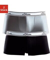 S.OLIVER RED LABEL RED LABEL Bodywear Microfaser-Boxer (2 Stück) schöne Retro Pants mit weißem Webbund bunt L (6),XL (7),XXL (8)
