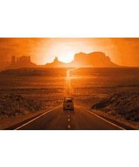 HOME AFFAIRE Bild Monument Valley 90/60 cm orange