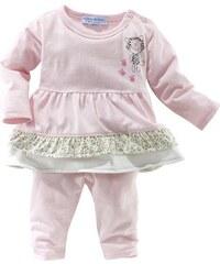 KLITZEKLEIN Klitzeklein Tunika und Leggings (Set 2-tlg.) für Baby Mädchen rosa 56,62,68,74,80