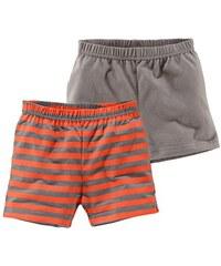 KLITZEKLEIN Klitzeklein Shorts (Packung 2er-Pack) braun 56/62,68/74,80/86,92/98