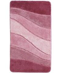 Meusch Badezimmer-Garnitur rosa 1 (60x100 cm Badeteppich),2 (70x120 cm Badeteppich),4 (55x50 cm WC-Vorlage mit Ausschnitt),5 (55x65 cm WC-Vorlage ohne Ausschnitt),6 (Deckelbezug),7 (80x150 cm Badetepp