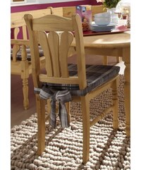 Massivholz-Stuhl (2,4 oder 6 Stck.) SERIE JÜTLAND braun