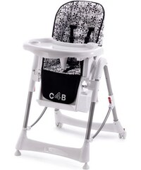 CHIC 4 BABY CHIC4BABY Hochstuhl mit verstellbarer Sitzposition schwarz
