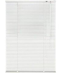 LIEDECO Aluminium-Jalousie Jalousie aus Aluminium im Fixmaß (1 Stck.) weiß 12 (H/B: 160/50 cm),13 (H/B: 160/60 cm),14 (H/B: 160/70 cm),15 (H/B: 160/80 cm),16 (H/B: 160/90 cm),17 (H/B: 160/100 cm)