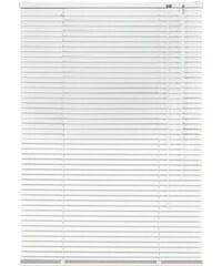 Aluminium-Jalousie Jalousie aus Aluminium im Fixmaß (1 Stck.) LIEDECO weiß 18 (H/B: 160/110 cm),19 (H/B: 160/120 cm),20 (H/B: 160/130 cm),21 (H/B: 160/140 cm),22 (H/B: 160/150 cm),23 (H/B: 160/160 cm)