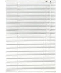 Aluminium-Jalousie Jalousie aus Aluminium im Fixmaß (1 Stck.) LIEDECO weiß 30 (H/B: 220/50 cm),31 (H/B: 220/60 cm),32 (H/B: 220/70 cm),33 (H/B: 220/80 cm),34 (H/B: 220/90 cm),35 (H/B: 220/100 cm)