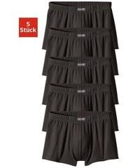 schlichte Boxer (5 Stück) aus Baumwolle Cotton made in Africa H.I.S schwarz 3,4,5,6,7,8,9,10
