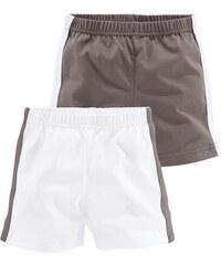 KLITZEKLEIN Klitzeklein Shorts (Packung 2 Stück) für Babys braun 68,74,80,86,92,98