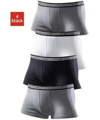 Authentic Underwear Le Jogger Authentic Underwear Microfaser-Boxer (4 Stück) coole Boxer in tollen Farbpackungen Farb-Set 3,4,5,6,7,8,9