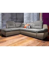 Polsterecke City Sofa wahlweise mit Bettfunktion CITY SOFA 101 (=schwarz),106 (=braun),111 (=schlamm)