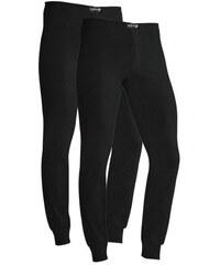 H.I.S Lange Unterhosen (2 Stück) mit Bündchen am Bein schwarz L (6),M (5),S (4),XL (7),XS,XXL (8),XXXL