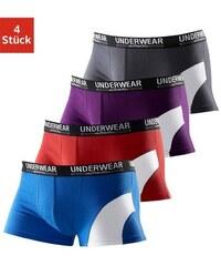 Authentic Underwear Boxer (4 Stück) aus Baumwolle Cotton made in Africa Authentic Underwear Le Jogger Farb-Set 3,4,5,6,7,8