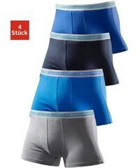 Authentic Underwear Microfaser-Boxer (4 Stück) coole Boxer in tollen Farbpackungen Authentic Underwear Le Jogger Farb-Set 3,4,5,6,7,8,9