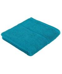 Frottana Handtuch Pearl mit Perloptik blau 1xHandtuch 50x100 cm