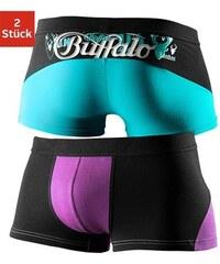 Hipster (2 Stück) in sportlichem Color Blocking Buffalo bunt L(6),M(5),S(4),XL(7),XXL(8)