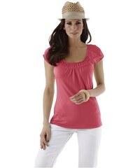 Cheer Damen Carmenshirt cold shoulder rot 34,36,38,40,42,44,46,48