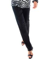 Ambria Damen Hose mit optisch streckender abgesteppter Biese vorne schwarz 36,38,40,42,44,46,48,50,52