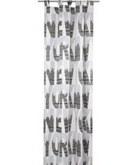 Vorhang New York (1 Stück) deko trends weiß H/B: 245/140 cm