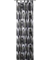 deko trends Vorhang New York (1 Stück) schwarz H/B: 245/140 cm