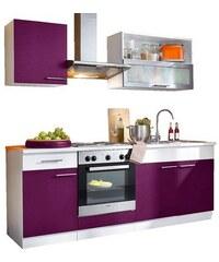 Küchenzeile Ahus Breite 210 cm Baur lila