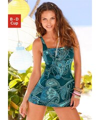 Badeanzug-Kleid Lascana blau 40 (80),42 (85),44 (90),46 (95),48 (100),50 (105),52 (110),54 (115)