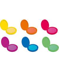 Dermacol Neon Hair Powder 2g Barva na vlasy W - Odstín Orange