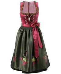 COUNTRY LINE Damen Dirndl Country Line rot 34,36,38,40,42,44,46,48,50,52