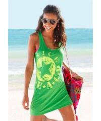 Venice Beach Damen Longtop mit Logo-Druck grün 32/34,36/38,40/42,44/46