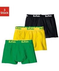 Boxer (3 Stück) coole Farben mit Webbund Buffalo bunt 116,128,140,152,164,176,182