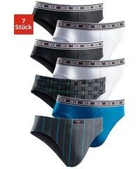 Slip (7 Stück) cooler Mix: bedruckt und uni in einer Packung aus Baumwoll-Stretch H.I.S Farb-Set L(6),M(5),S(4),XL(7),XXL(8)