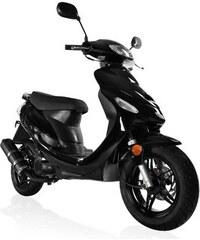 MOTOWORX Motorroller Forza 50 ccm 45 km/h 4,21 PS schwarz