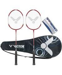 VICTOR Badminton Set Atomos 500 Set rot