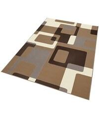 Teppich Tiznit Retro Design abstrakt gewebt HANSE HOME braun 2 (B/L: 80x150 cm),3 (B/L: 120x170 cm),4 (B/L: 160x230 cm),6 (B/L: 200x290 cm)